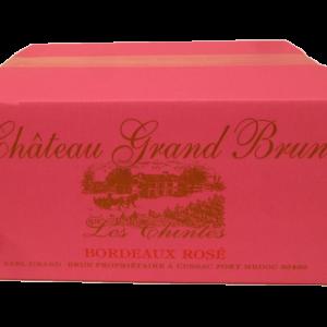 Carton 6 bouteilles Bordeaux Rosé 2019