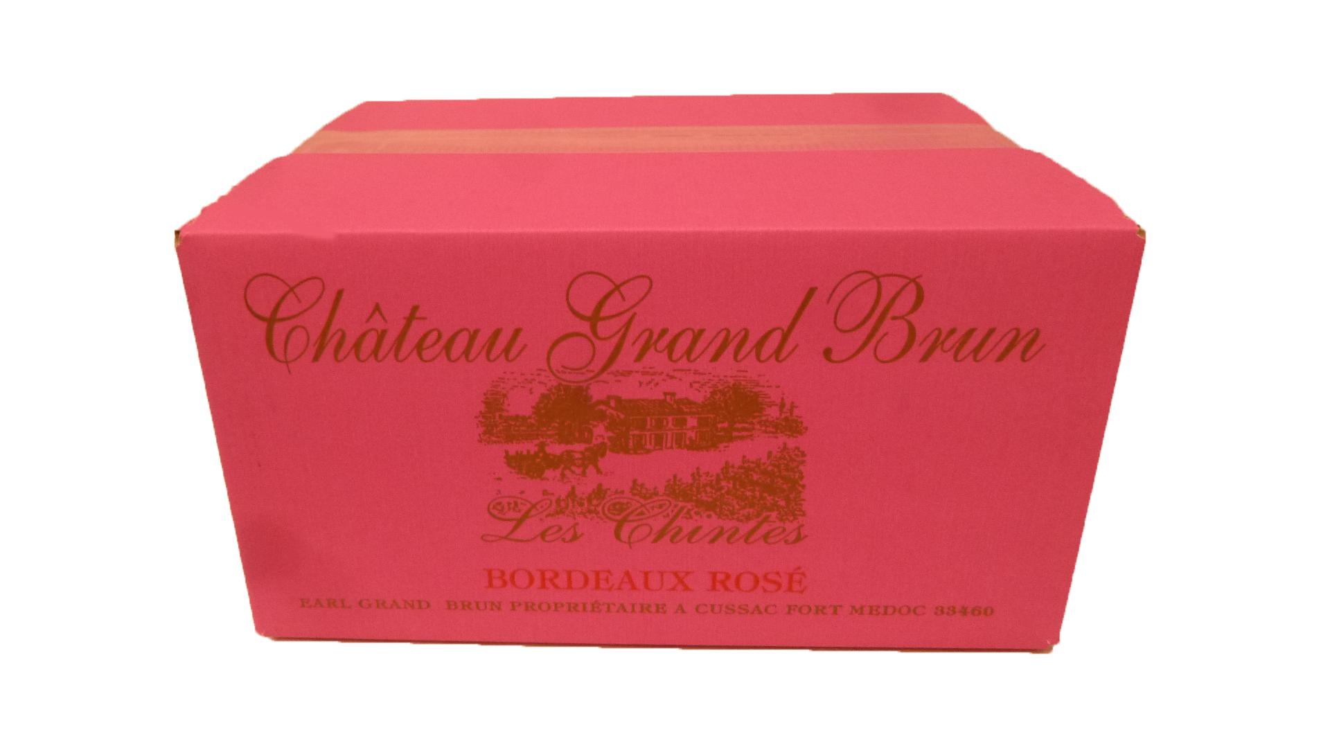 carton de rosé