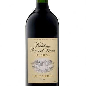 Vin Rouge 2015 Haut Médoc - Demi (0.37L)