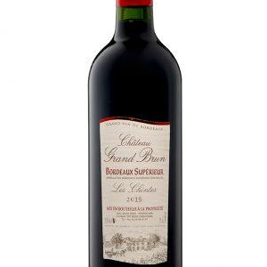 Vin Rouge 2015 Bordeaux Supérieur